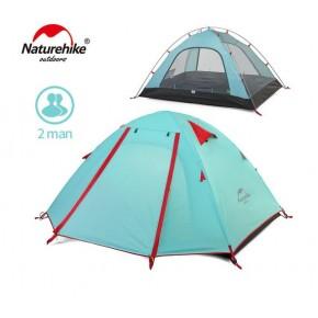 Двухместная палатка NatureHike P Series, NH15Z003-P, цвет голубой