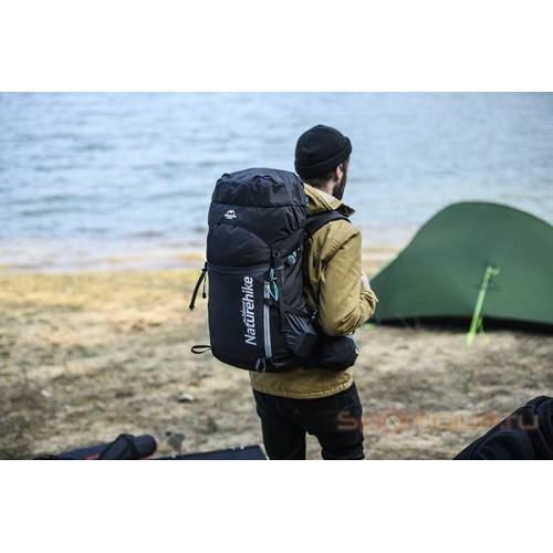 Рюкзак треккинговый Naturehike 45 л NH18Y045-Q, черный