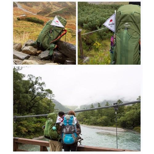 Туристический Рюкзак, NatureHike, NH16Y065-Q, рюкзак 65 литров, цвет зеленый