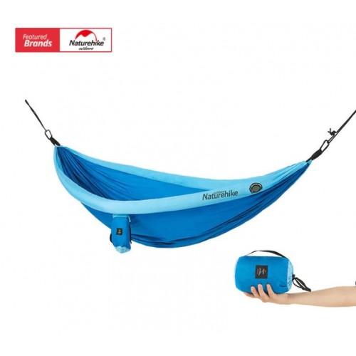 Гамак Naturehike, NH18D002-C, цвет синий, вес 800гр.