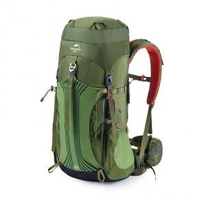 Рюкзак туристический Naturehike, цвет зеленый, 65л