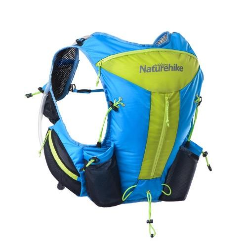 Рюкзак Naturehike Cross country 12л, цвет Sea Blue, NH70B067-B, беговой рюкзак