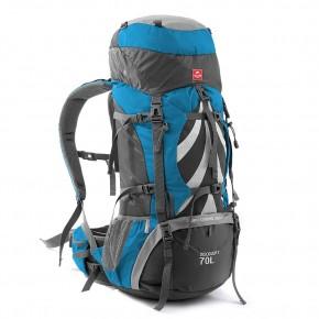 Рюкзак туристический Naturehike, цвет синий, 70л