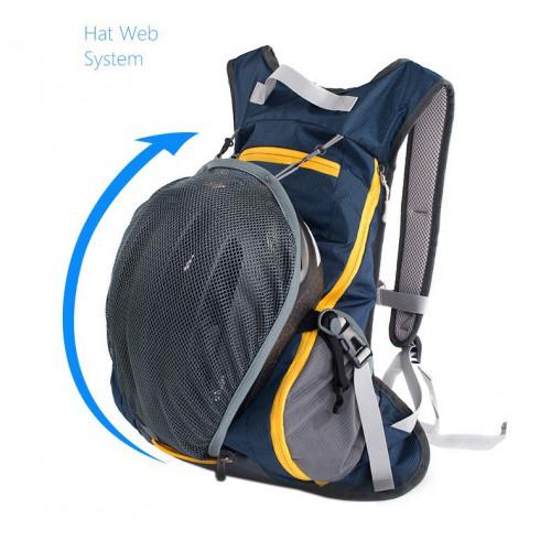 Велосипедный Рюкзак, NatureHike, вело рюкзак, рюкзак для бега, 15л, черный
