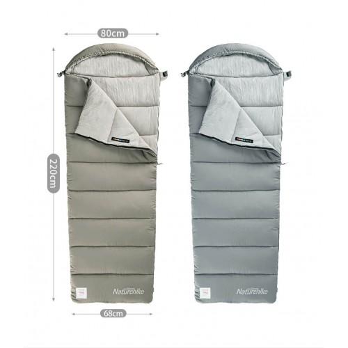 Спальный мешок конверт Naturehike M300, +6°C, +1°C, NH20MSD02, вес 1.5кг