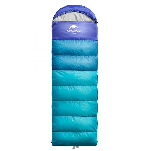Спальный мешок Naturehike U350S, цвет синий, NH15S009-D