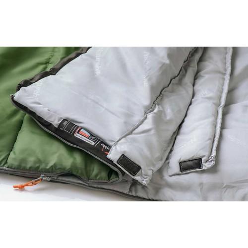 Спальный мешок конверт Naturehike U350S, -0°C, цвет синий, NH15S009-D, вес 1.7кг