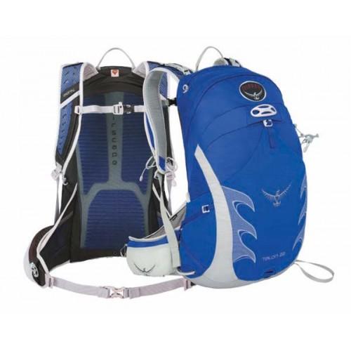 Рюкзак Osprey Talon 22 Day Pack цвет синий, велосипедный рюкзак Osprey, спортивный рюкзак на каждый день