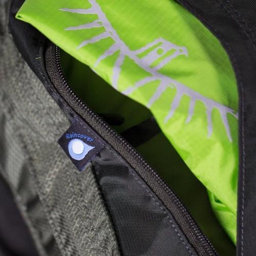 Инновационная спинка AG AntiGravity™ 3D, Рюкзак Osprey Aether AG 70, цвет Adriondack Green,