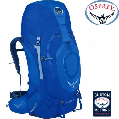 Туристический рюкзак Osprey Xenith 75, цвет синий, модель 2015 г.
