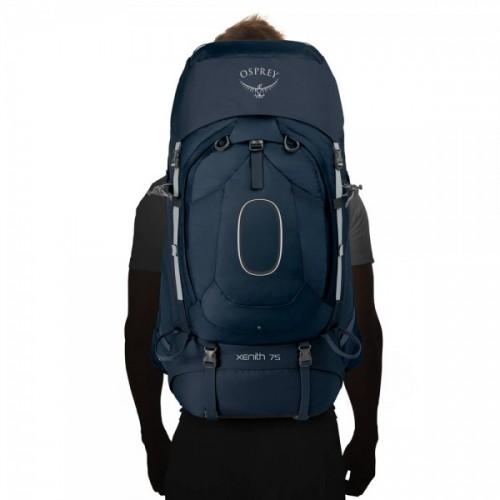 Рюкзак Osprey Xenith 75, цвет TEKTITE GREY, Туристический рюкзак с доставкой по Казахстану