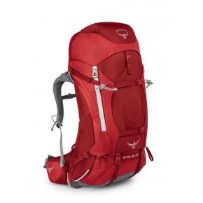 Рюкзак женский Osprey Ariel AG 55, цвет Picante Red