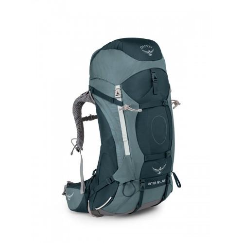 Женский рюкзак Osprey Ariel AG 55, цвет Boothbay Grey, Рюкзак для многодневных походов