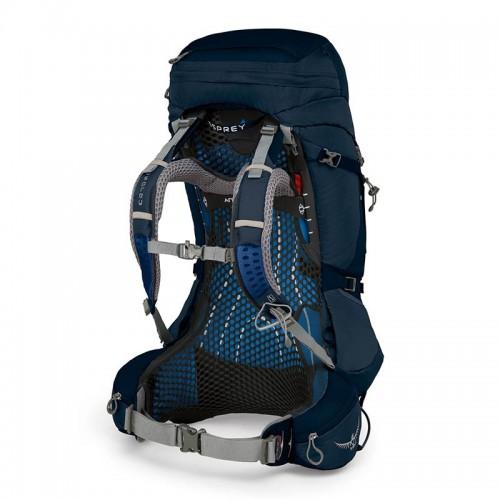 Рюкзак туристический Osprey Atmos AG 50, цвет Unity Blue, Обновленная модель 2018 года
