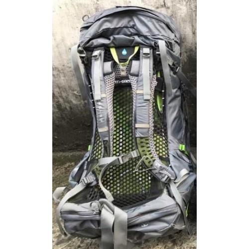 Туристический рюкзак Osprey Atmos AG 65, цвет Abyss Grey, Объем 65L, Обновленная модель 2018 года