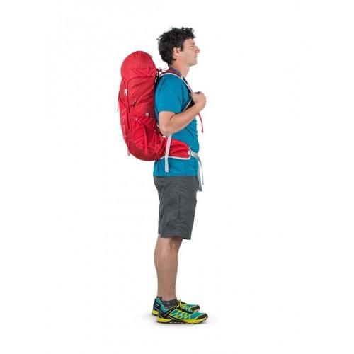 Рюкзак Osprey Talon 33, цвет красный, Рюкзак для профессионалов, Лучшие рюкзаки для пешего туризма
