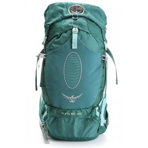 Женский рюкзак Osprey Aura 50 AG, цвет rainforest green, модель 2015 г.