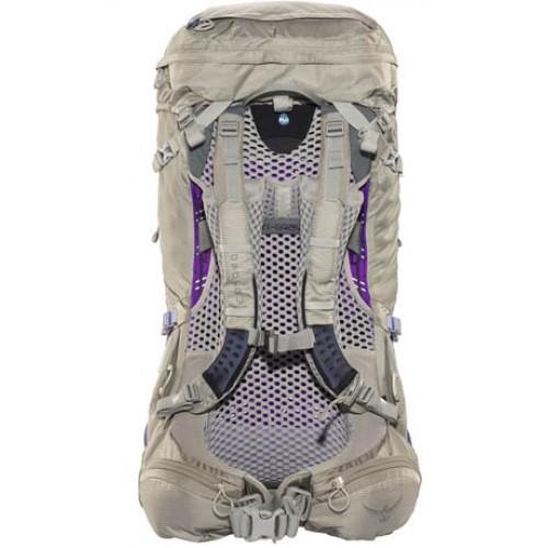 Женский туристический рюкзак Osprey Aura 50 AG , цвет Silver Streak, рюкзак для туризма и отдыха