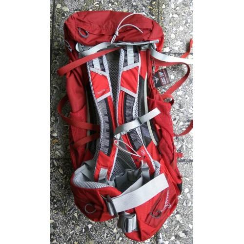 Osprey Stratos 50, цвет красный, рюкзак туристический, Горный рюкзак в Алматы