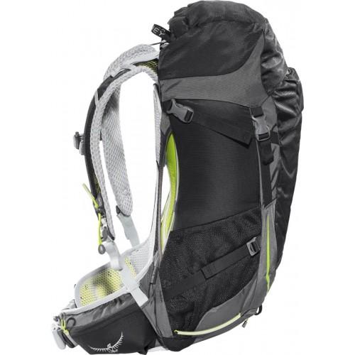Туристический Рюкзак Osprey Stratos 26, цвет black, рюкзак для спортивного туризма