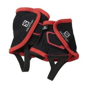 Гетры спортивные Salomon Trail Gaiters Low, цвет черный красный, размер L