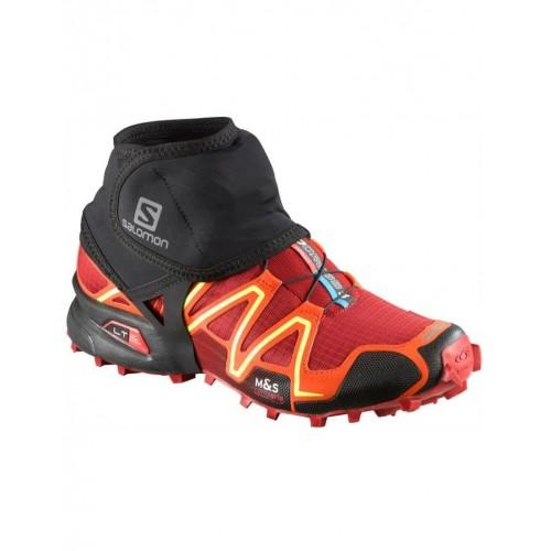 Гетры унисекс Salomon Trail Gaiters Low, цвет черный, размер M, гетры для бега купить