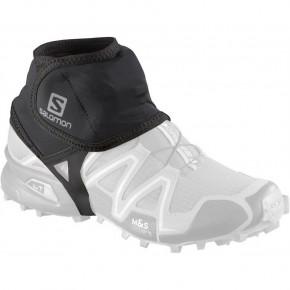 Гетры спортивные Salomon Trail Gaiters Low, цвет черный, размер M