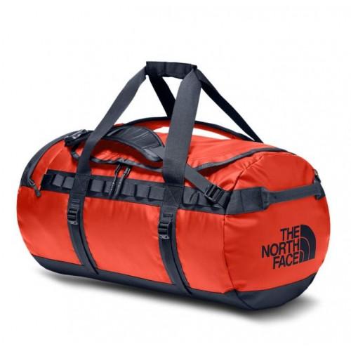 Экспедиционная сумка, баул The North Face Base Camp Duffel, цвет: красный, объем 95L