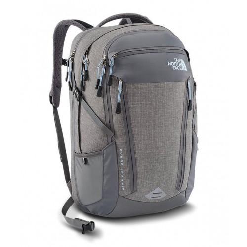 Рюкзак городской, Оригинал, The North Face Surge Transit, цвет серый, рюкзак для ноутбука