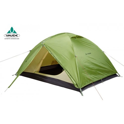 Vaude Loggia 3p, 3-х местная палатка, цвет зеленый, Немецкая палатка, палатка 3-х сезонная