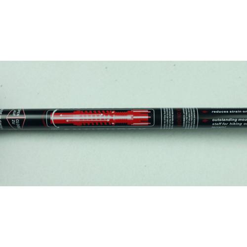 Альпенштоки, HIGHTREK, цвет черный, длина 65-135 см (пара), треккинговые палки
