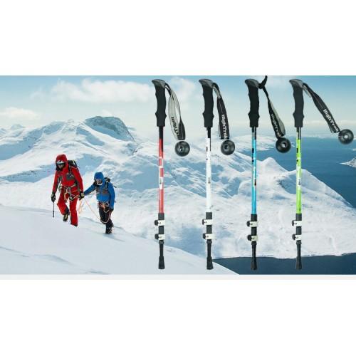Альпенштоки, HIGHTREK, цвет красный, длина 65-135 см (пара), треккинговые палки купить в Алматы
