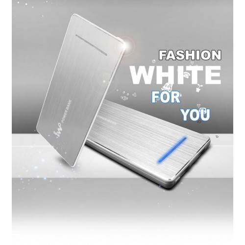 IWO P28S 5600mah power bank цвет серебро, переносная зарядка для смартфонов