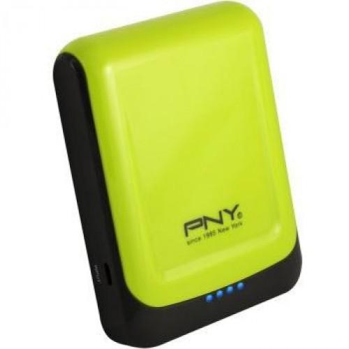 Power bank 78S, переносная зарядка для смартфонов, цвет желтый и голубой
