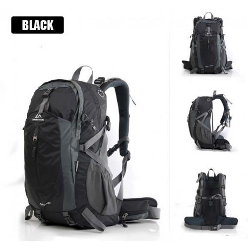 Рюкзак Maleroads, MLS9018-2, вместимость 35л, цвет черный, купить горный рюкзак, доставка по Казахстану