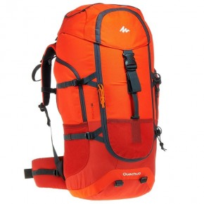 Рюкзак QUECHUA 60L цвет красный
