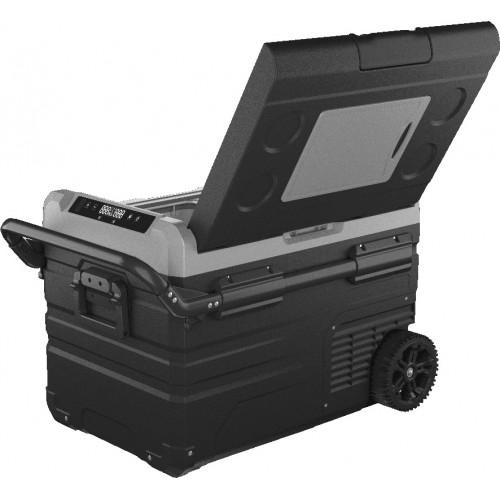 Компрессорный автохолодильник морозильник, Alpicool ETWW45, Двухкамерный 12/24/220V, + аккумулятор.