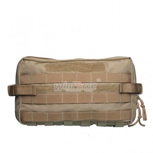 Подсумок Winforce Wide Load MOLLE Pouch, EDC сумка, Тактическая сумка, цвет Khaki, органайзер EDC купить