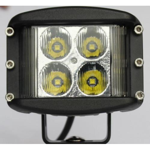 Новая модель AURORA, ALO-2-E4E15J, мощность 40w, Широкий угол освещения 180°, Фары рабочего света, Официальный дилер, фары для спецтехники