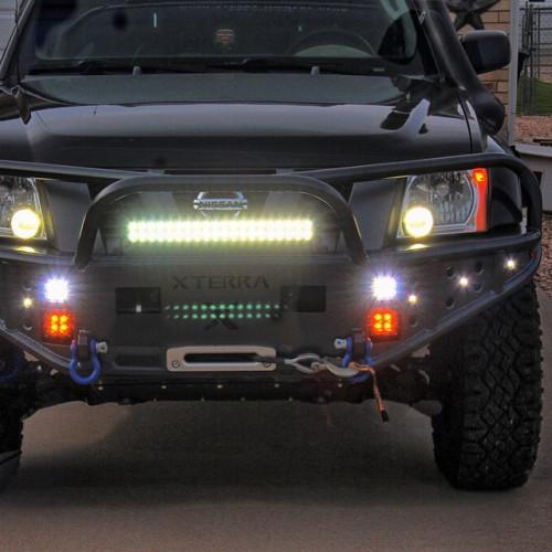 PANEL LED, 200W, панель светодиодная, AURORA на TOYOTA HILUX, ALO-20-P4E4D, дилер в Казахстане, гарантия 2 года