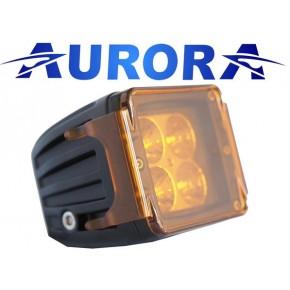 """Защитная крышка Aurora для фары 2"""", цвет янтарный (светофильтр) противотуманный"""