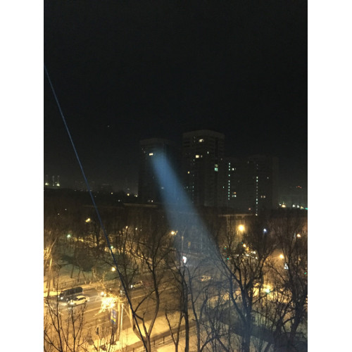 Компактный ручной светодиодный прожектор для охоты и охраны, 127мм