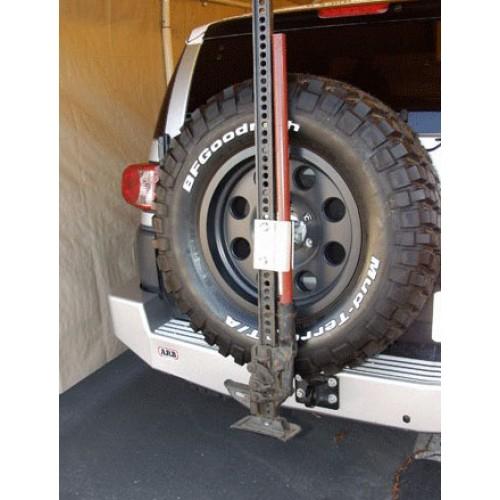 Крепление для реечного домкрата Hi Lift Jack к запасному колесу