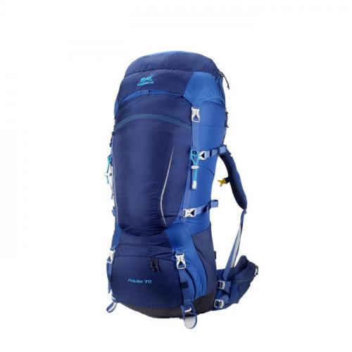 Рюкзак Ameiseye, 70L Hiking Climbing, цвет синий, треккинговый рюкзак для многодневных походов