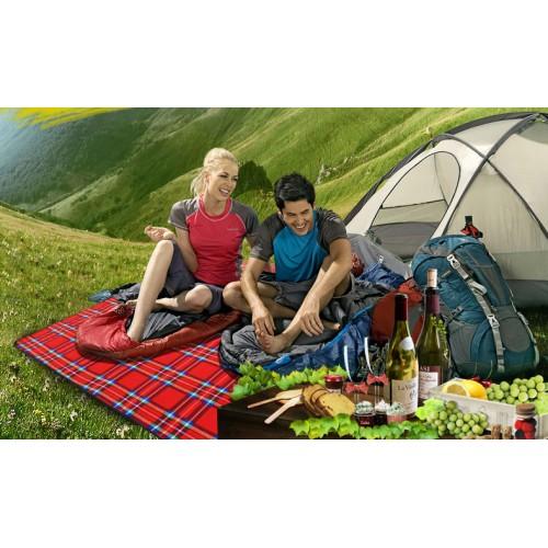 коврик для пикника 150*200, цвет синий