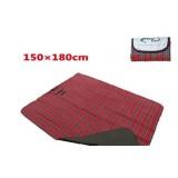 коврик для пикника 150*180, цвет красный