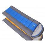 Спальник Windtour цвет синий/серый, вес 1.8кг, конверт