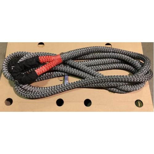 Strength Max Трос динамический для тяжелых внедорожников, длина 9 метров, нагрузка 8650кг, растяжение 30%