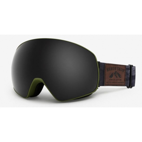 Маска NANDN NG8 черная для лыж и сноуборда, Горнолыжные маски, очки - купить с доставкой
