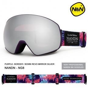 Маска NANDN NG8 серая